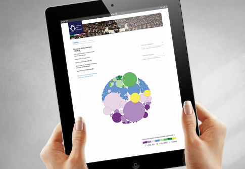 Xviii legislatura home page for Diretta dalla camera dei deputati