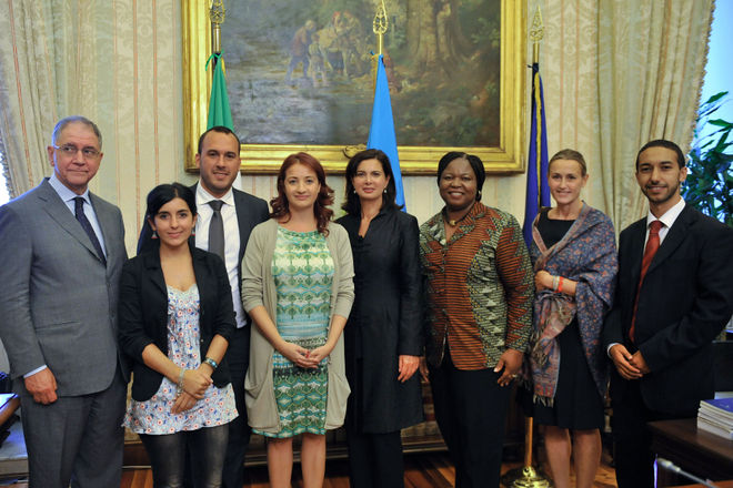 Laura boldrini neo presidente della camera dei deputati for Presidente dei deputati
