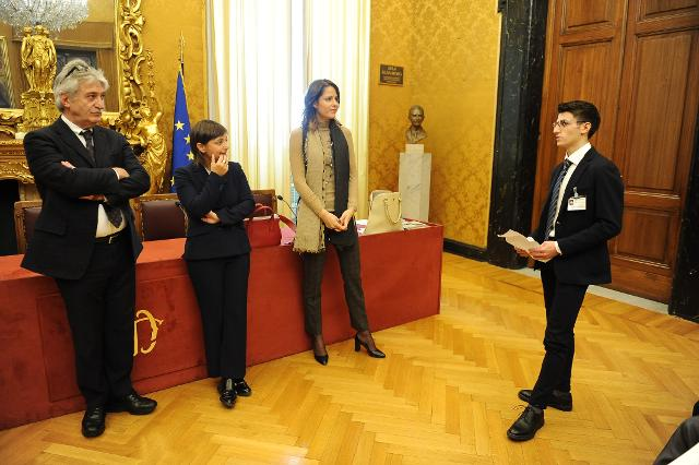 Incontro dei ragazzi con i deputati eletti nella Circoscrizione Friuli Venezia Giulia
