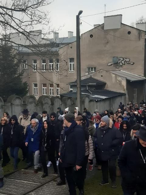 Le scuole visitano il ghetto