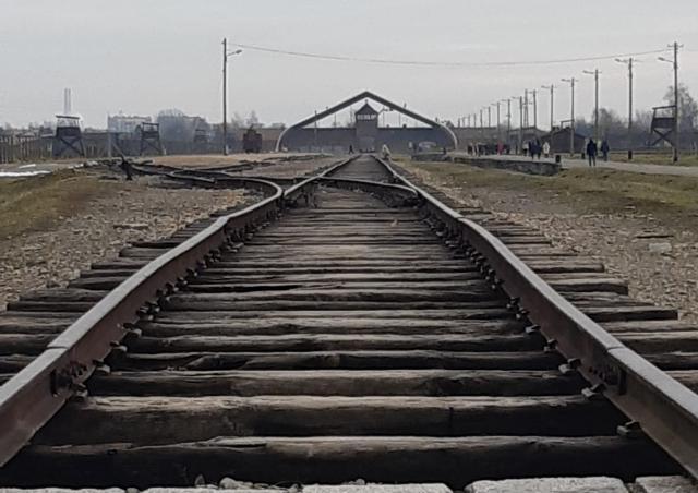 Ingresso ad Auschwitz