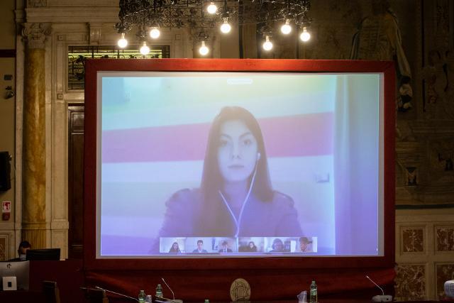 Incontrano degli studenti con i deputati eletti nella Circoscrizione Friuli Venezia Giulia