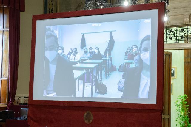 Dibattito tra gli studenti e i deputati della Circoscrizione Emilia Romagna