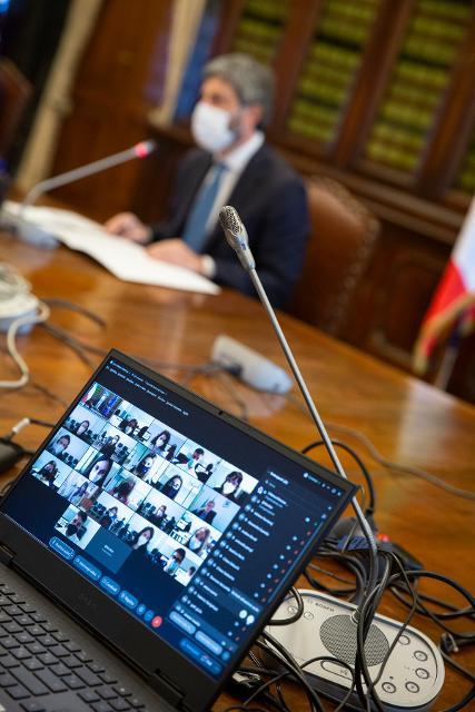 Giornata di formazione a distanza con il Presidente Fico