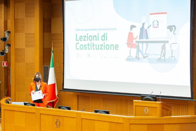 Cerimonia conclusiva del concorso Lezioni di Costituzione 2019-20 e 2020-21