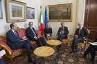 FINI INCONTRA IL MINISTRO DEGLI AFFARI ESTERI E DELL'INTEGRAZIONE EUROPEA DEL MONTENEGRO, NEBOJSA KALUDEROVC