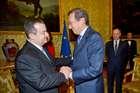 FINI INCONTRA IL PRIMO MINISTRO DELLA REPUBBLICA DI SERBIA, IVICA DACIC